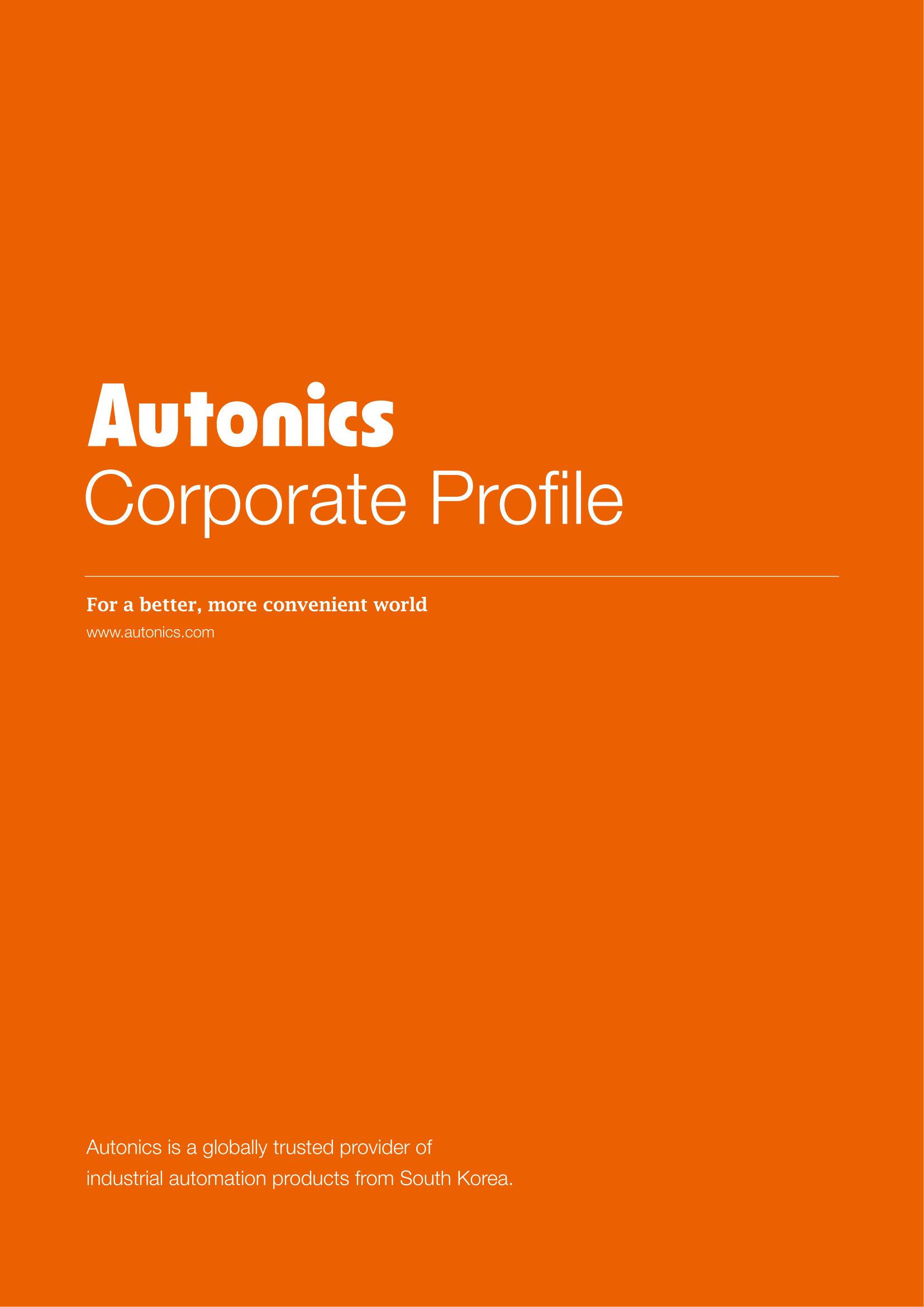 Autonics - Brošura