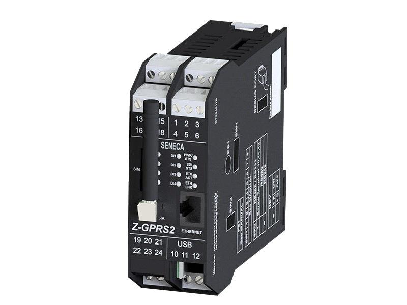 Z-GPRS2 je GSM / GPRS, multiprotokolski (Ftp, Smtp, Pop3, http, ModBUS TCP, ModBUS RTU) bežični uređaj, koji ima ugrađene ulaze i izlaze kako bi postigao visoke performanse prikupljanja podataka, arhiviranja, logovanja, komandovanja, merenja i upravljanja alarmima. Može da radi samostalno ili umrežen. Funkcioniše kao Modbus Master jedinica na RS485 serijskom portu i kao podrška GMS/GPRS komunikaciji